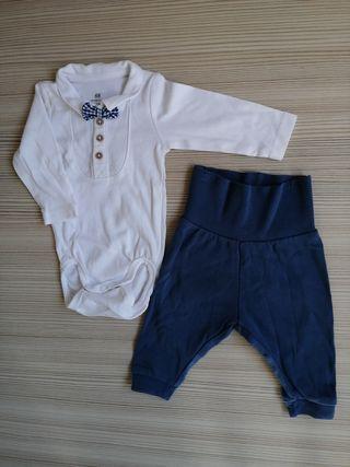 conjunto bebé recién nacido 1-2 meses H&M