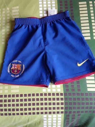 Pantalon corto Fc Barcelona 5/6 años