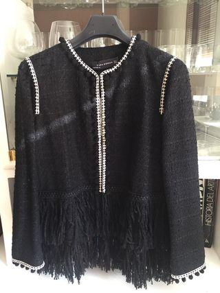 Chaqueta negra Zara talla S