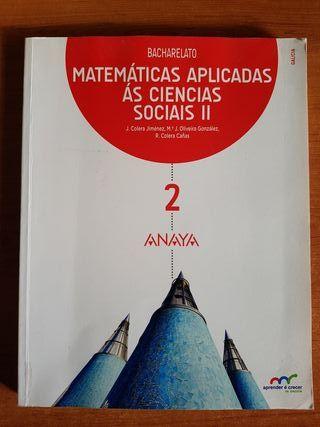 Libro Matemáticas Aplicadas 2°Bac
