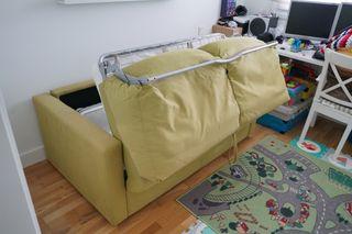 Sofa cama utilizado muy poco