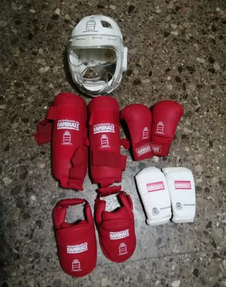 Protecciones oficiales karate kumite
