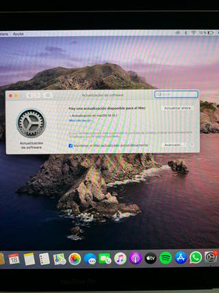 MacBook Pro 13' Plata