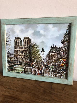 Cuadro Notre Dame París 25 x 31