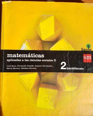 Libro de Matemáticas Aplicadas 2° Bac (forrado)
