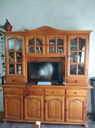 Mueble rústico comedor