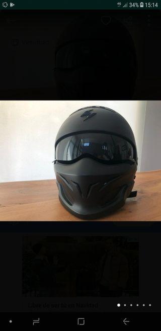 SCORPION EXO COMBAT casco moto.