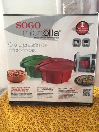 Olla para microondas SOGO.