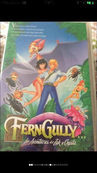Película VHS/ Fern Gully