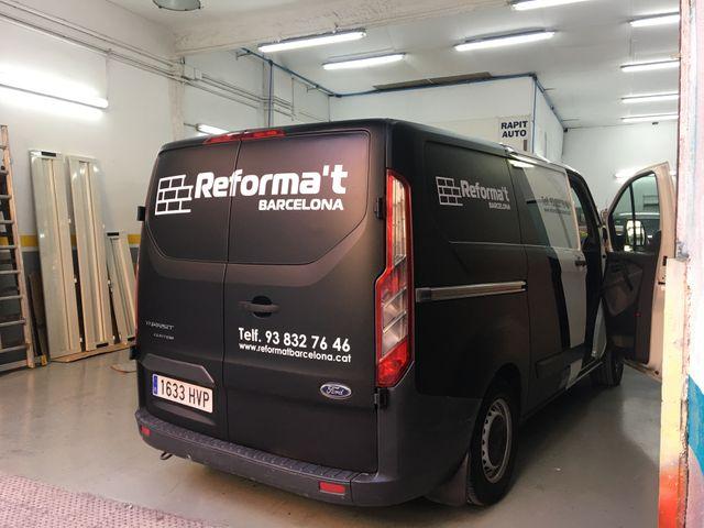 Rotulación de furgonetas o vehículos