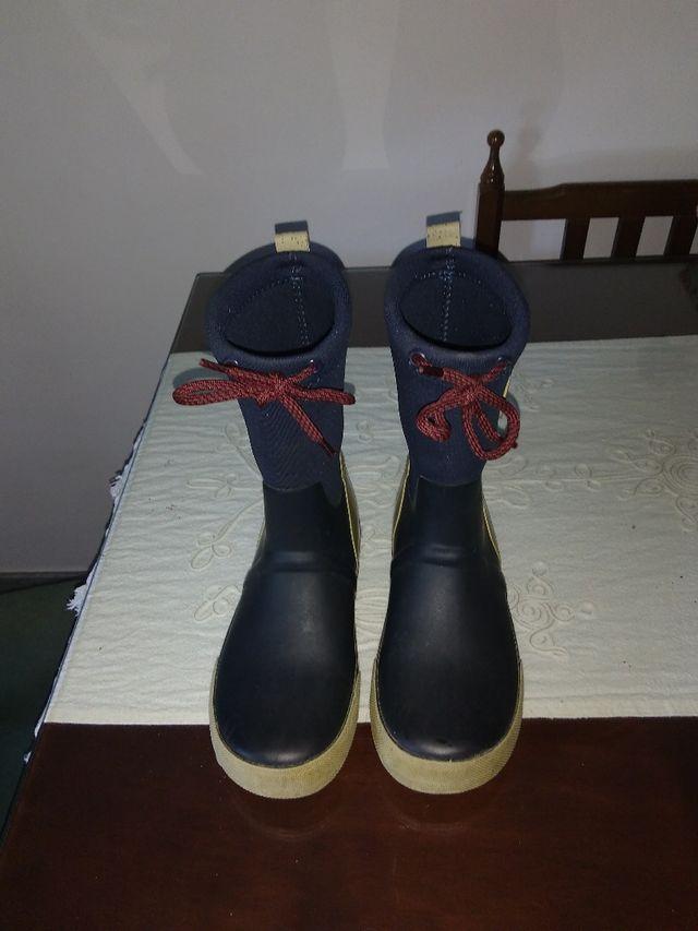 botas de agua de Zara