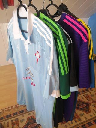 Lote camisetas Celta de Vigo
