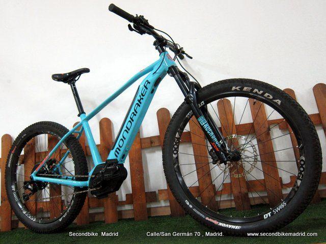 Bicicleta eléctrica MONDRAKER PRIME + 2019 TEST