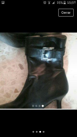botín piel