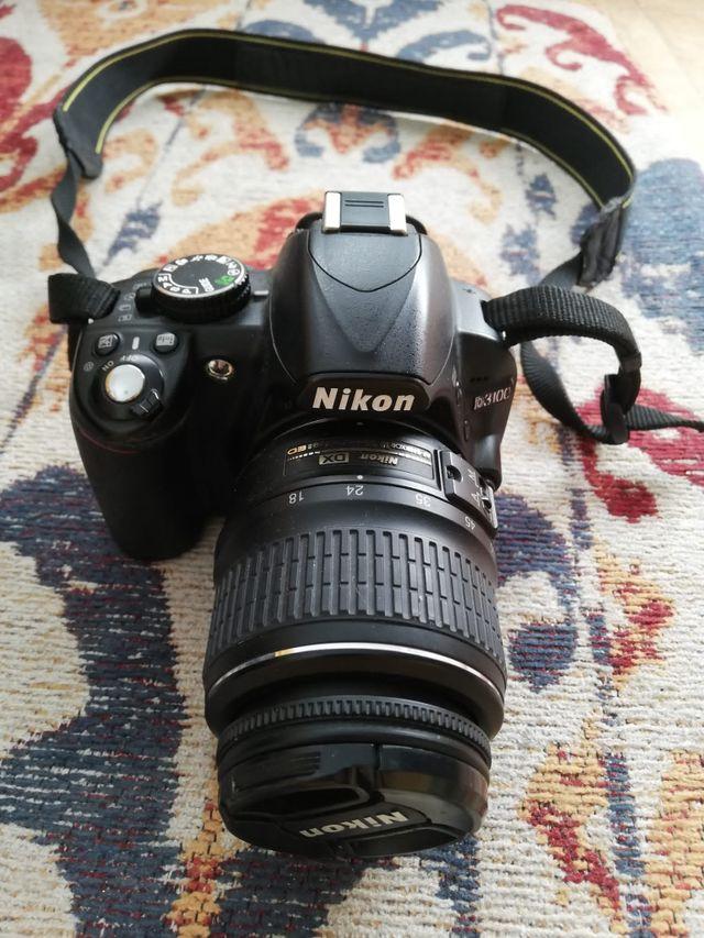 Cámara profesional Nikon D3100