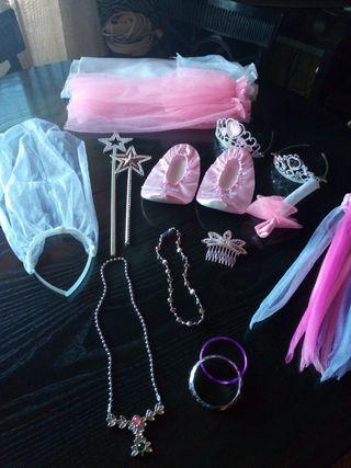 Complementos disfraz princesa