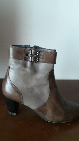 botínes piel