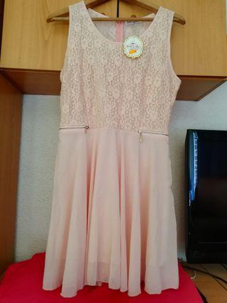 Vestido para estas fiestas nuevo rosa claro