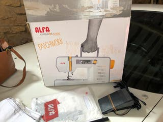 Alfa Compakt 500 E patchwork Máquina de coser