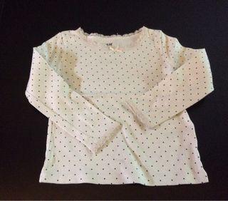 Camiseta niña HM dos años