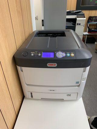 Impresora oki c712