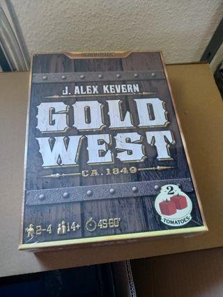 Gold West Edición Limitada. Juego de mesa.