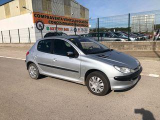 Peugeot 206 1.4I 75cv Gasolina 5ptas 2003