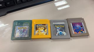 Juegos Game Boy Pokemon + Tetris