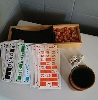bingo. juegos de mesa