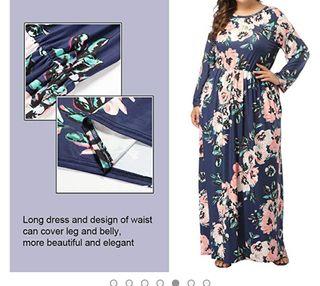 vestido de mujer talla grande 5xl(62-64)