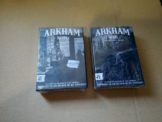 Pack Arkham Noir (Caso 1 y Caso 2)