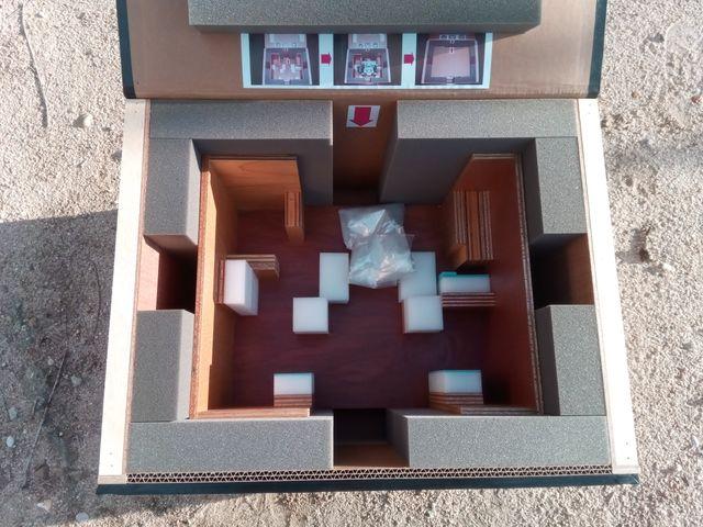 Caja de madera, cartón embalaje especial