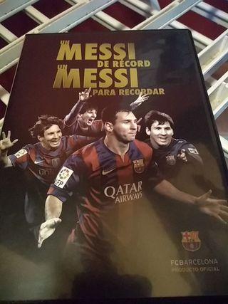 DVD Messi