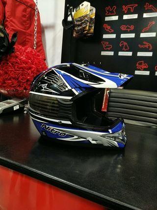 casco nitro moto Cross nuevo