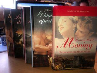 Novela romántica colección Highlander