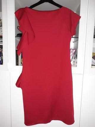 Vestido rojo, de Elogy, nuevo con etiqueta