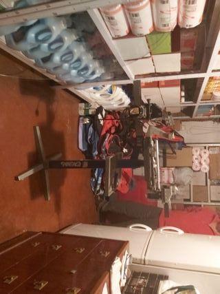 máquina para engordar raquetas