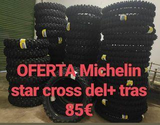 se venden michelin star cross nuevos 85€ pareja