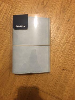 Agenda Filofax domino soft blue