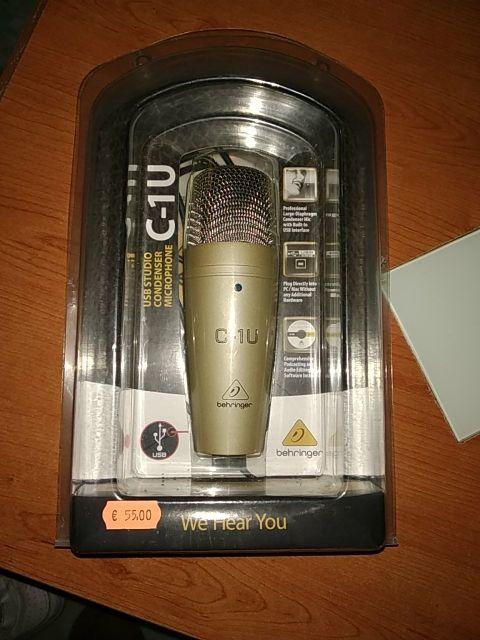 Micrófono C-1U