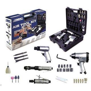 Maletín kit con 34 herramientas neumáticas (Nuevo)