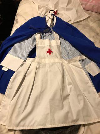 Disfraz enfermera niña 10-12 años