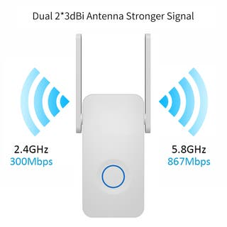 REPETIDOR WIFI 5 GHZ Y 2.4 GHZ