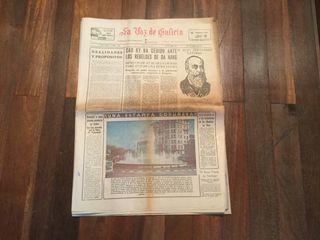 Ejemplar La Voz de Galicia de 1966