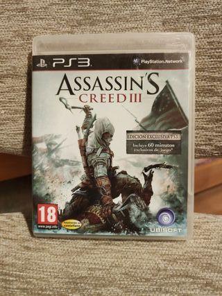 Assassin's Creed III para PS3