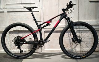 Bicicleta Doble Carbono 29 EvolutionFS Eagle 1x12