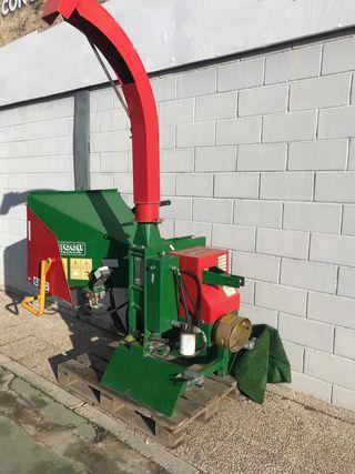 Biotrituradora para tractor