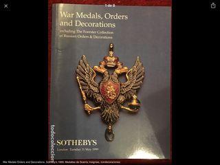 Medallas de Guerra insignias condecoraciones Rusas
