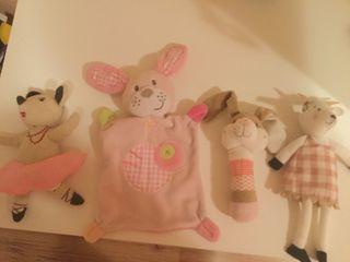 Lote juguetes bebé niña.
