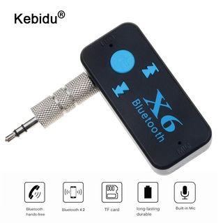 X6 receptor sonido bluetooth con bateria